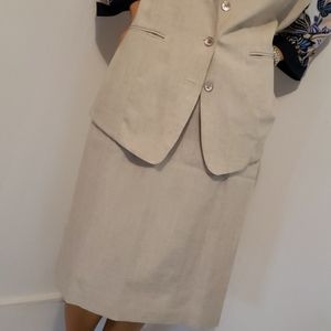 NWOT ALFRED DUNNER SKIRT SUIT SIZE 14